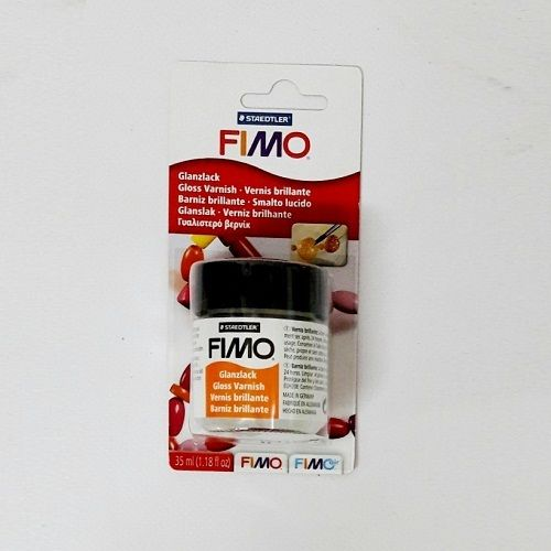 Tarro de 35 ml de barniz brillo Fimo
