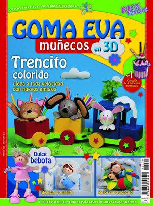 Muñecos De Goma Eva En 3d Manualidades Trasgu