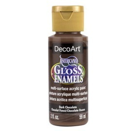 Gloss Enamels DAG65 Chocolate oscuro