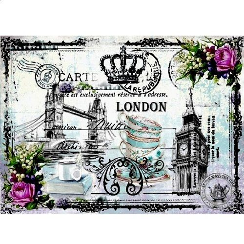 "Papel arroz Cadence ""London"""
