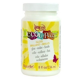 Pegamento decoupage brillo DS101 236ml