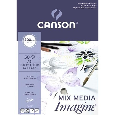Bloc Canson Imagine 50h. A5 200gr
