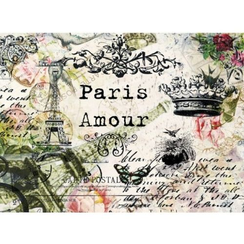 "Papel de arroz Cadence ""Paris amour"""