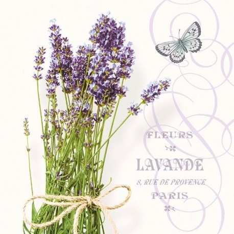 "Servilleta M83 ""Bunch Of Lavender"""