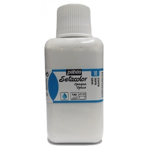 Setacolor Opaco Pebeo 250ml 10 Blanco