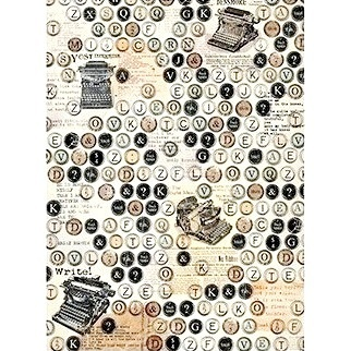 "Papel arroz Cadence 186 ""Typewriter"""